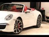 911カブリオレ カレラS D車 スポーツクロノPKG 赤幌 赤革
