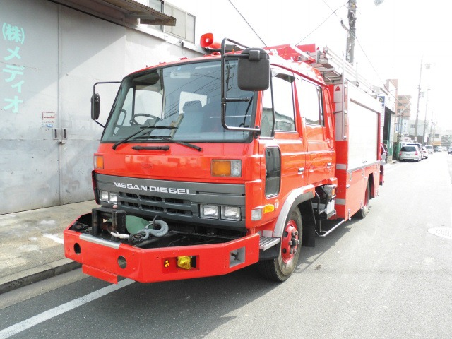 日産ディーゼル コンドル 消防車 救助工作車 レスキュー  RESCUE