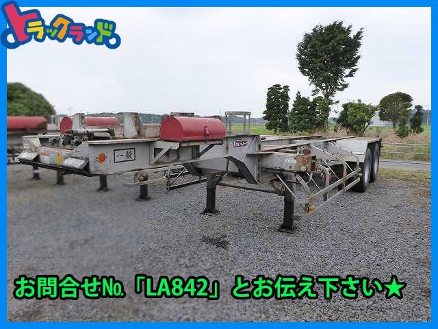 その他 日本 /その他 日本  H10 フルハーフ 2軸コンテナシャーシ