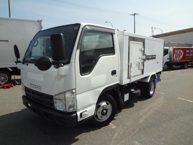 いすゞ エルフ 冷凍車 H23 -5度 10尺 AT車 東プレ