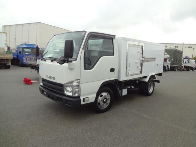 いすゞ エルフ 冷凍車 H23 2t -30度  AT車 東プレ