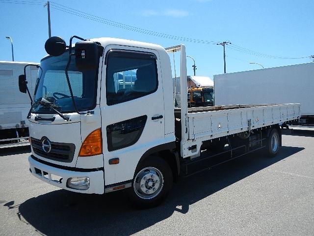 日野 レンジャー トラック H15 4.05t 平ボディ 荷L619