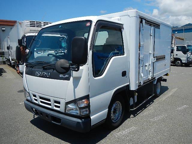 いすゞ エルフ 冷蔵冷凍車 H19 1.5t -5度 中温 低床