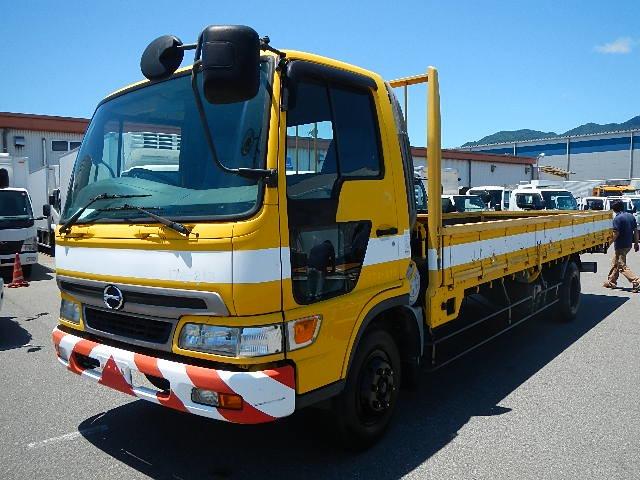 日野 レンジャー トラック H13 4t 荷台L620 平 走行少