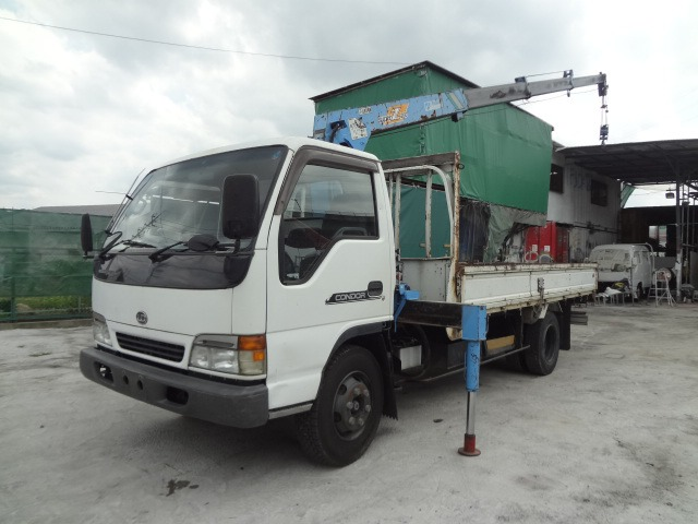 UDトラックス コンドル クレーン H10 4段 3.5t ワイド・超ロング