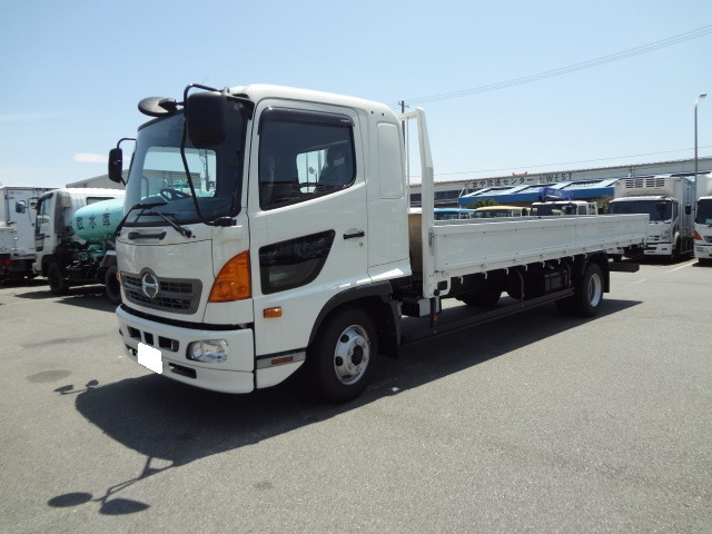 日野 レンジャー トラック H27 4.15t 平ボディ 荷L620
