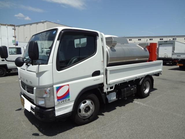 三菱ふそう キャンター トラック H26 灯油販売車 1.55t 10尺