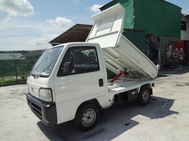ホンダ アクティトラック  H10 軽トラ ダンプ 4WD 新明和