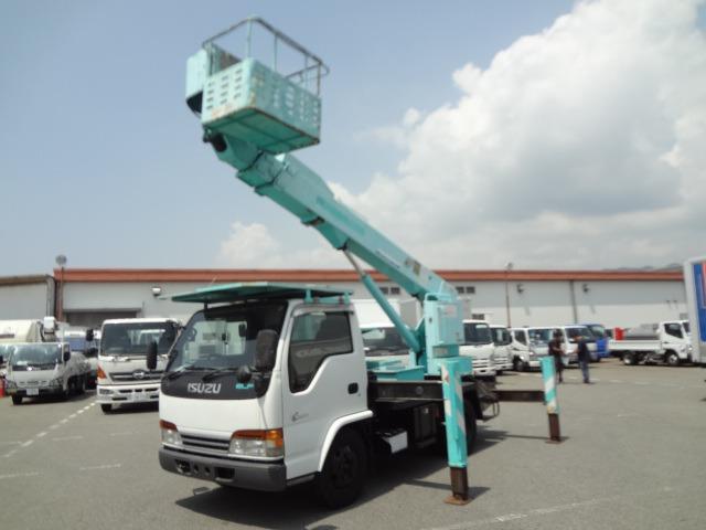 いすゞ エルフ 高所作業車 H12 アイチ SK12A 12.5m