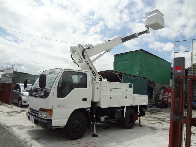 いすゞ エルフ 高所作業車 H12 SK099 9.9m 塗装済