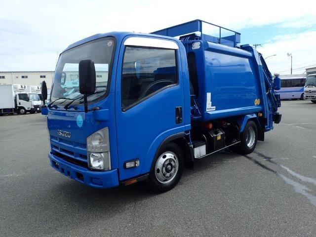 いすゞ エルフ パッカー車 H21 2t 4.3M3 プレス 検付
