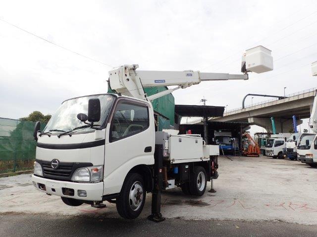 日野 デュトロ 高所作業車 H20 SH10A 10M 4WD