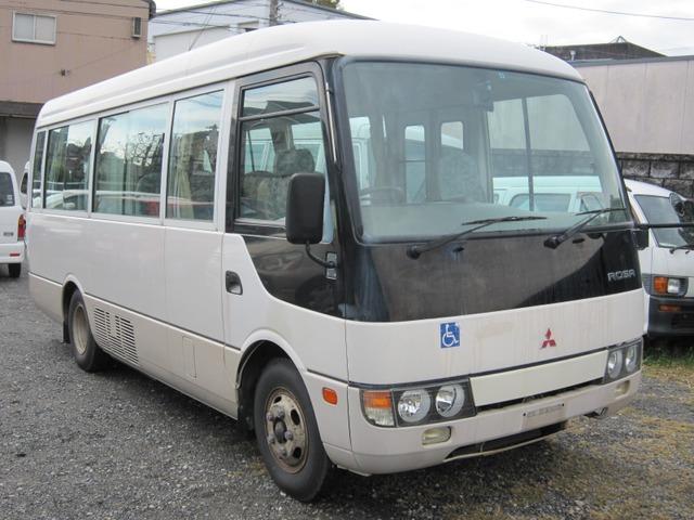 三菱ふそう ローザ CX 車イスリフト 自動ドア 走9.2万