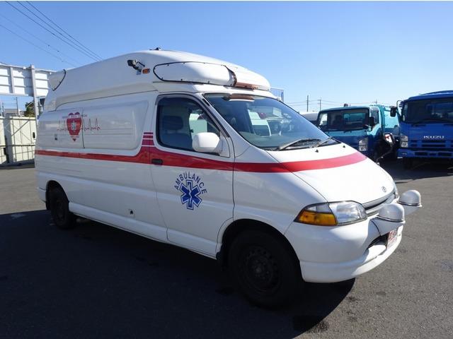 トヨタ グランビア  4WD 4WS 救急車 患者輸送車