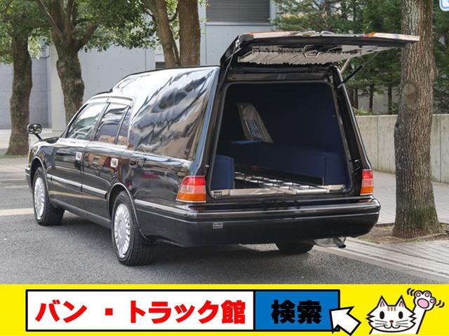トヨタ クラウン  お棺ストレチャ兼用レール寝台霊柩車4WD