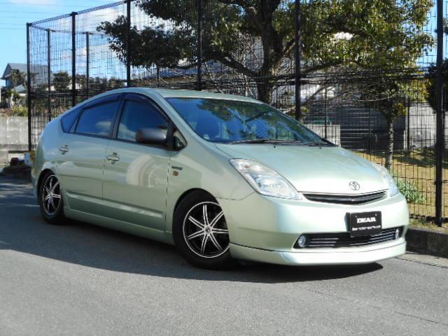 トヨタ プリウス S HDDナビ ローダウン スマートキー