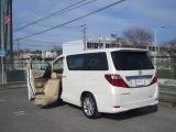 トヨタ アルファード 2.4 240X ウェルキャブ 助手席リフトアップシート車 Aタイプ