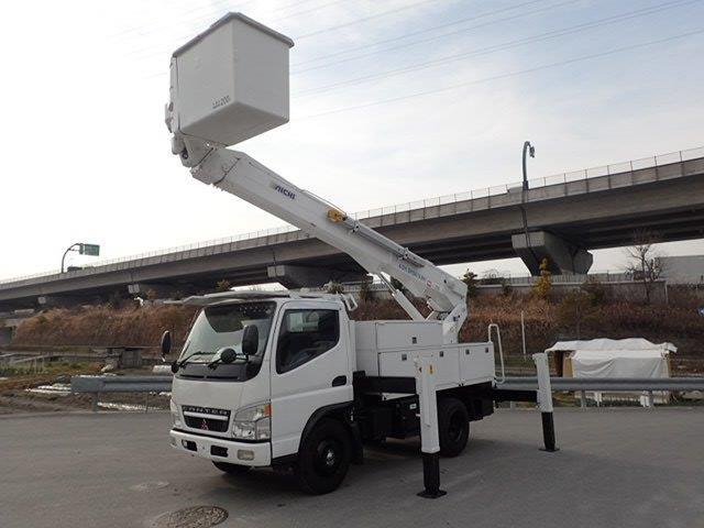 三菱ふそう キャンター 高所作業車 H15 アイチSH15A 14.6m