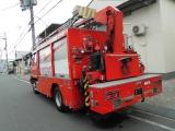 日野 レンジャー 消防車