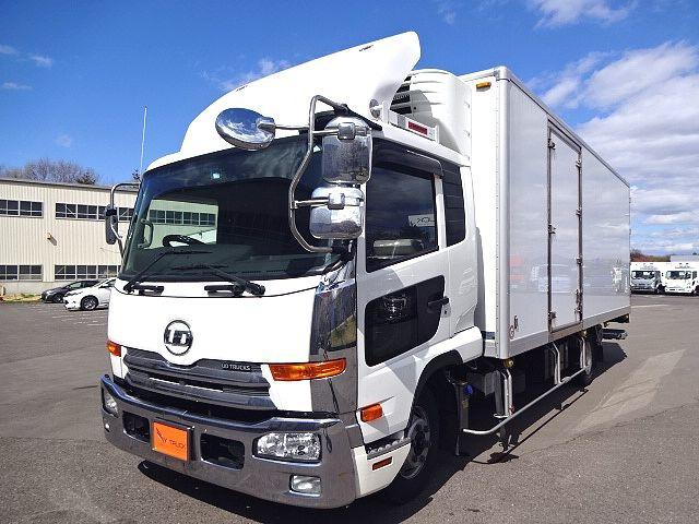 UDトラックス コンドル  フルワイド 低温冷凍車 格納PG
