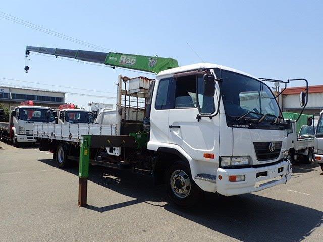 UDトラックス コンドル クレーン H18 5段ラジコン ワイド L594