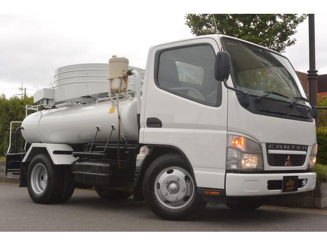 三菱ふそう キャンター バキュームカー バキュームカー・清掃車・5速MT