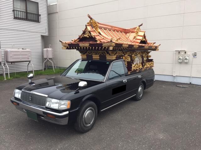 トヨタ クラウンバン  宮型霊柩車
