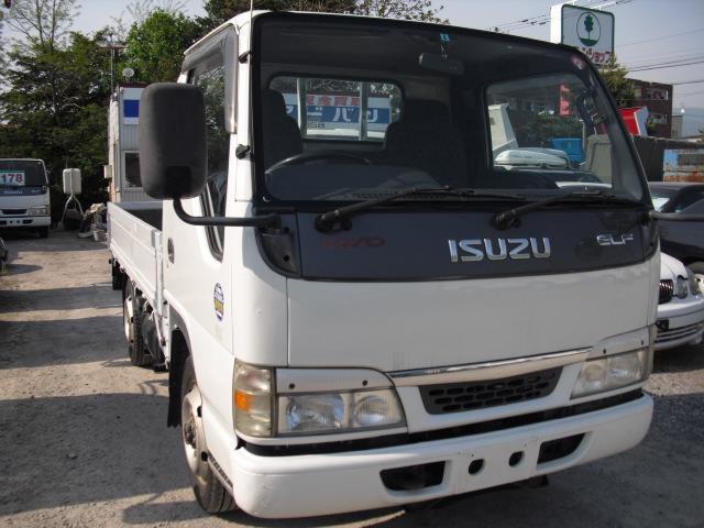 いすゞ エルフ 3.1 フラットロー ディーゼル 4WD 積載1.5t 平トラック