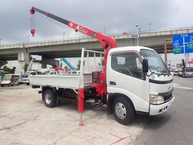 トヨタ ダイナ 4.6 高床 ディーゼル H15 3段クレーン 標準ロング 2t