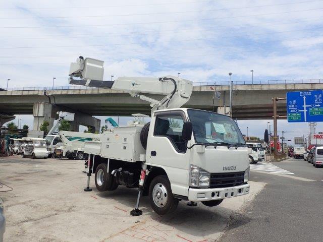 いすゞ エルフ 高所作業車 H20 AT-100 9.9M 電工仕様