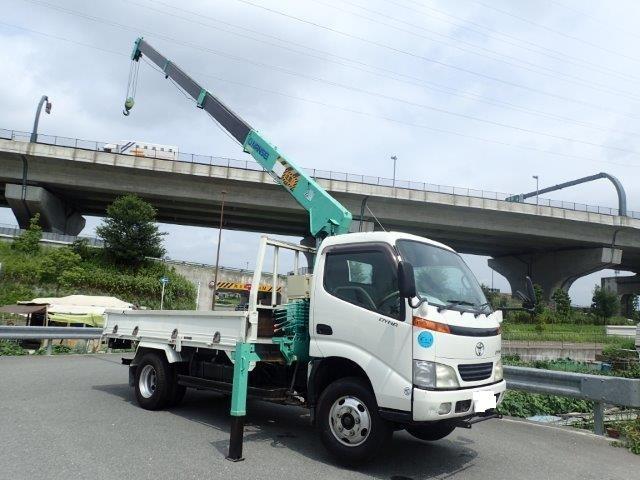 トヨタ ダイナ 5.3 高床 ディーゼル H11 4段クレーン ラジコン ロング
