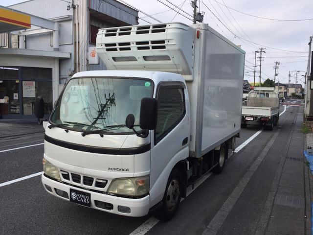 トヨタ トヨエース 4.9 ジャストロー ディーゼル 冷蔵冷凍車(デンソー製)スタンバイ付!
