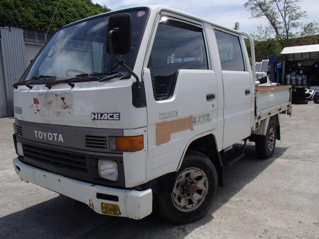 トヨタ ハイエーストラック 2.4 ダブルキャブ シングルジャストロー ディーゼル 4WD 現状販売