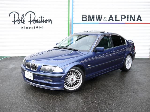 BMWアルピナ B3 3.3 リムジン スイッチトロニック キセノンライト 社外ナビ サンルーフ付
