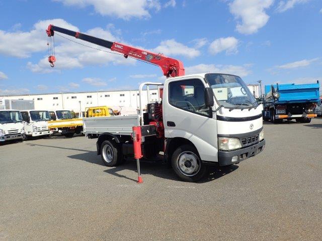 トヨタ ダイナ 4.6 高床 ディーゼル H14 3段 クレーン 2t ラジコン