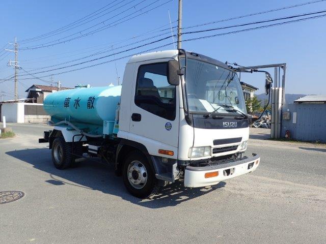 いすゞ フォワード トラック H16 4t 極東 散水車 PTO式