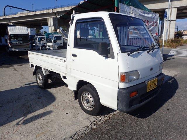 スバル サンバートラック 三方開 STD H5 軽トラ 平 10万km OH済