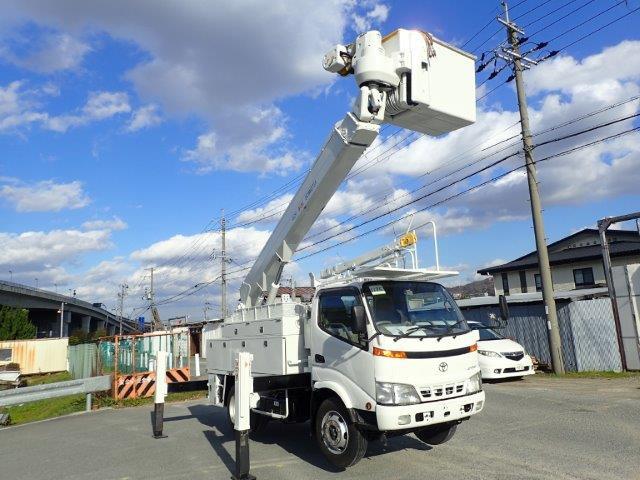 トヨタ ダイナ 高所作業車 H14 アイチSH15A 14.6m
