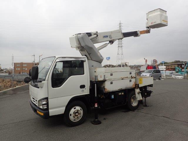 いすゞ エルフ 高所作業車 H17 SH09A 9.7M ワンピン