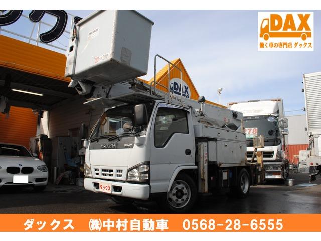 いすゞ エルフ 高所作業車 15m 電工仕様 アイチSH15B