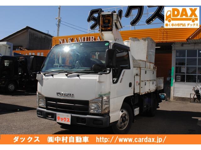 いすゞ エルフ  高所作業車9.9m 電工仕様AT100