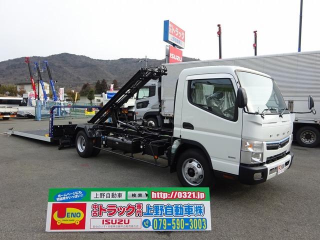 三菱ふそう キャンター 車載車 極東 フラトップZero 3.3t積み