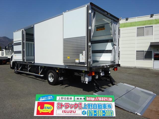 いすゞ フォワード  冷凍車 低温 格納ゲート付 2.7t積み