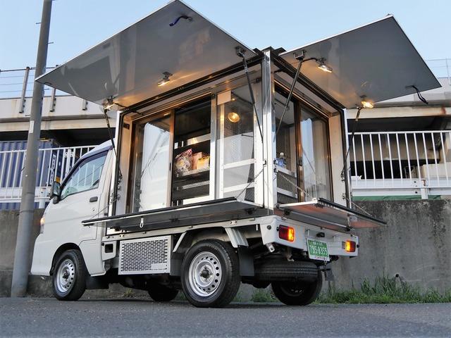 ダイハツ ハイゼットトラック  -5℃冷凍ガラスショーケース付移動販売車