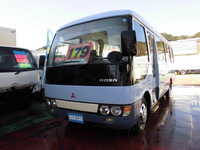 三菱ふそう ローザ バス ☆トラック専門店☆24人乗り 自動ドア