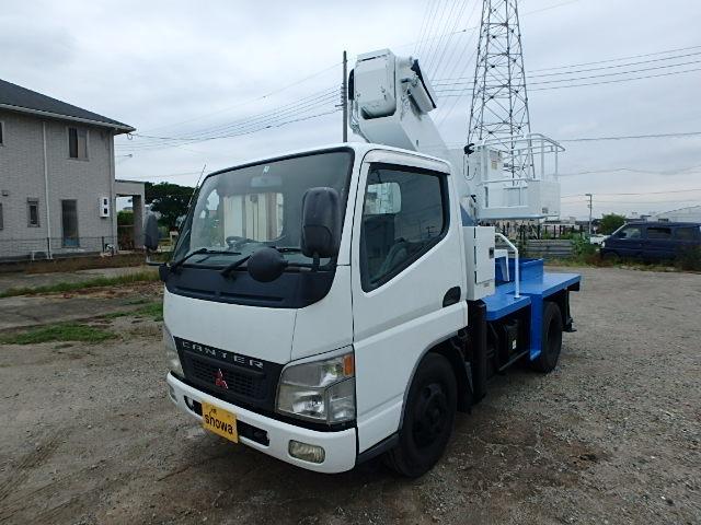 三菱ふそう キャンター 高所作業車 タダノ AT-100
