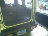 Rシートを立てた時でもそこそこの荷物は積めそうです。