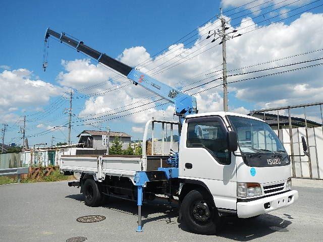 いすゞ エルフ クレーン H6 タダノ5段ラジコン 超ロング