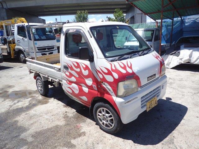 スズキ キャリイ KA (エアコン付) H11 軽トラック 検H32.3 走行少