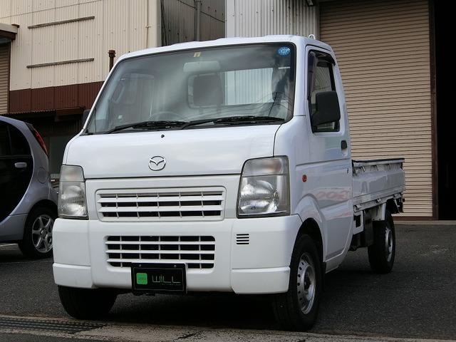 マツダ スクラムトラック KC スペシャル 5MT エアコン パワステ 純正ラジオ